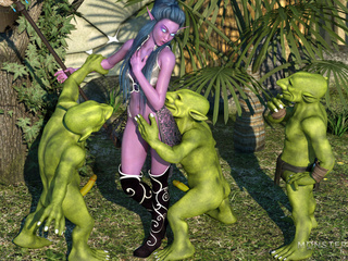 Dirty green leprechauns and a purple 3D fairy - Picture 1