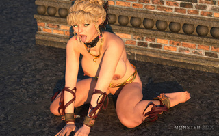 brutal outdoor action with