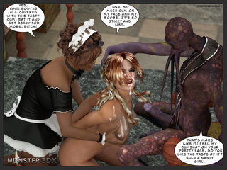 Purple alien drills a big tit blonde in hardcore mode - Picture 6