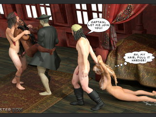 Interracial princesses nailed hard by horny as hell - Picture 2