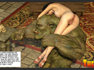 Muscled green giant hardly drills a slutty princess - Picture 6