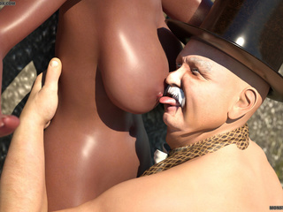 Big ass ebony gets hardly screwed by a white shaft - Picture 2