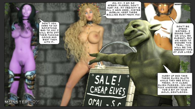 elf sex cartoon