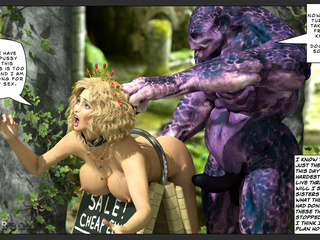 Three female elves get great sex from a series of - Picture 5
