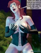 Caned slave drills a big-boobed redhead pixie. Devil Incantation 1 By