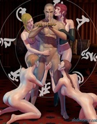 Fore sexual divas are pleasing just one man. Devil Incantation 1 By Feather