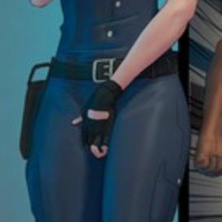 Leggy policewoman in tight uniform have - BDSM Art Collection - Pic 1