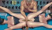 brutal double penetration busty