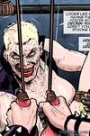 Bonded brunette gets her face fucked in hardcore way. Prison Horror Story