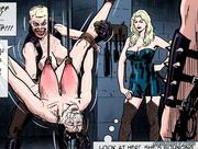 hardcore bondage and face-fucking