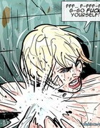Dirty water tortures for a godlike big-boobed blonde. Prison Horror Story