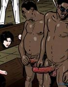 White sluts have to sucks these giant black snakes. Prison Horror Story