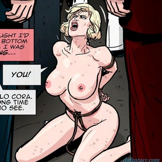 Busty helpless blonde is getting beaten - BDSM Art Collection - Pic 2