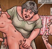 Son asked his mom to shave a blonde's pussy. Baby'S Boy 3: On Tour By