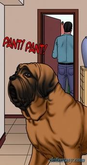 dirty doggy smells nasty