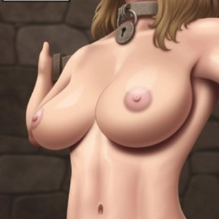 Gagged blonde with big boobs is waiting - BDSM Art Collection - Pic 4