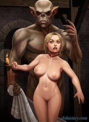busty redhead sex slave