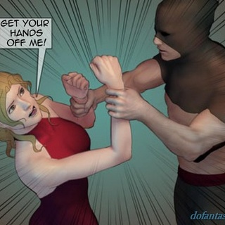 Masked men are surrounding hot women in - BDSM Art Collection - Pic 3