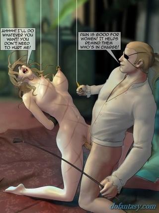 blindfolded spanked blonde rides