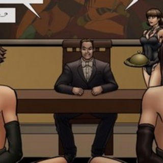 Court of law looks better with naked - BDSM Art Collection - Pic 2