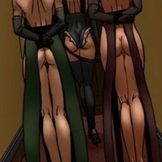 Big-tit ladies with long legs are - BDSM Art Collection - Pic 1