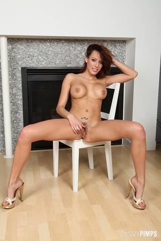 hot brunette bitch fucking