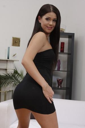 Blonde Milf Black Dress