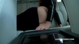 Brown-haired girl with tiny black panties enjoys brutal anal - XXXonXXX - Pic 4