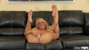 horny big-titted bimbo with