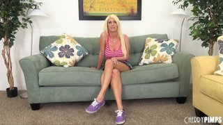 hot blonde temptress petite