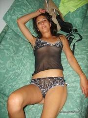skinny latina chick slips