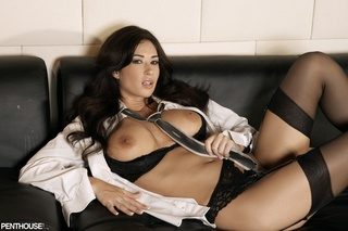 alluring doctor teases luscious