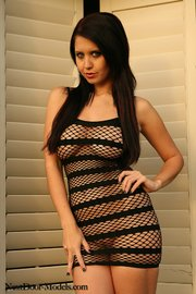 dark haired brunette with