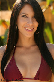 oscura haired morena with