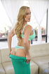 fit blonde mature green