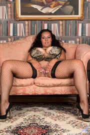 thick raven fishnet stockings