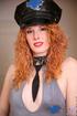 alluring babe cop hat