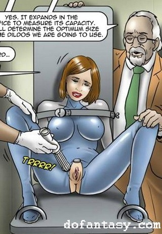 latex lesbian slave cartoon
