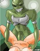 Alien fucks girl cartoon bondage. The Game by Erenisch.