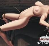 Spanked and abused bondage toon. Emma's Grief by Ferres.