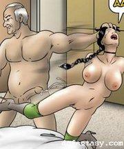 sex slave comics rough