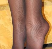 Brunette foot