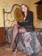 hot heels babe