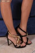 babe, foot, nude, pantyhose