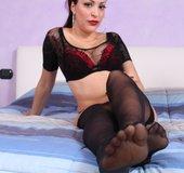 Stunning feet soles