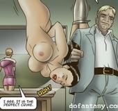 Slave girls rough torture bondage toon. Karma 2 by Erenisch.