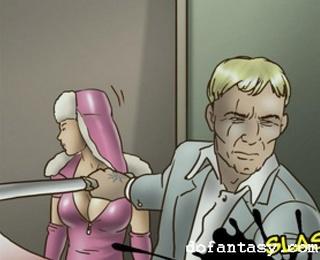 hostages rough bdsm comics