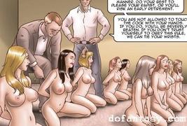 bdsm art, big tits, naked girls, rough