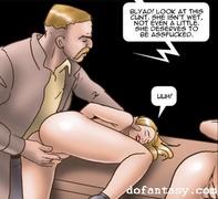 ass fuck, bdsm art, blonde, natural tits