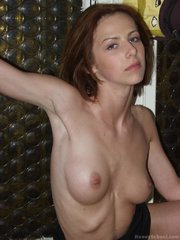 stunning red haired temptress
